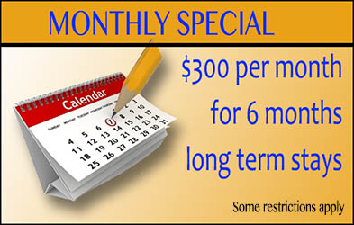 monthly special for pecan park