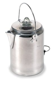 Camping coffee pot