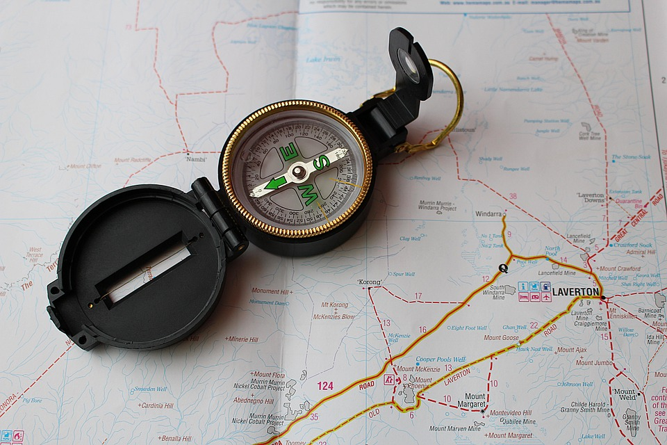 The Benefits of Teaching Kids to Use a Compass