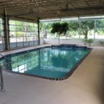 Indoor Swimming Pool Pecan Park Riverside RV Park