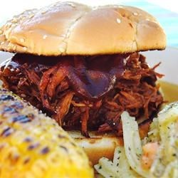 Slow cooker texas pulled pork