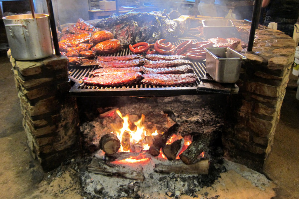 Salt Lick Barbecue Pit Driftwood