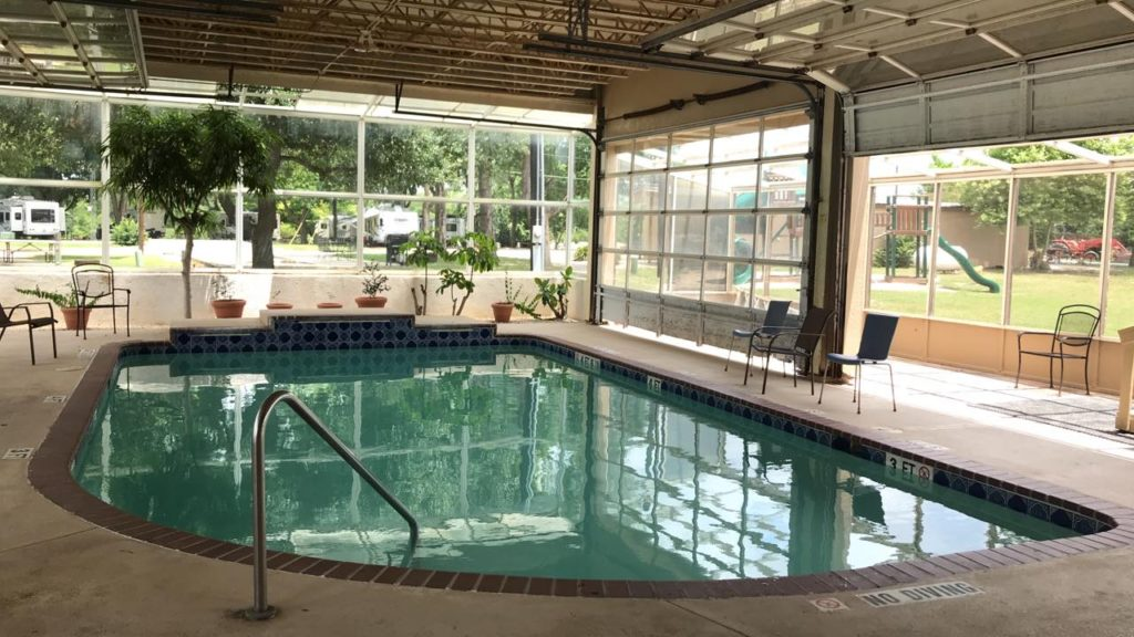 Indoor Swimming Pool RV Park