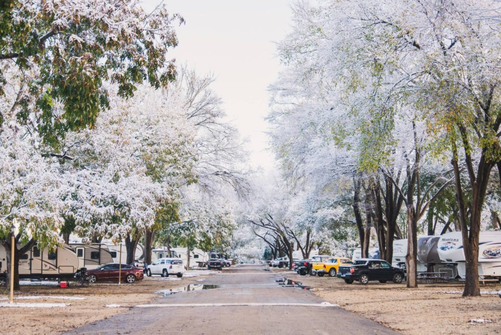 Cold Weather Tips for RV
