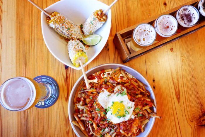 Delicious Food and Beer at AquaBrew in San Marcos