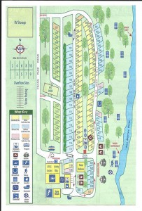 pecan park campground map