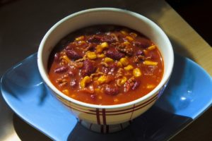 chili for camping