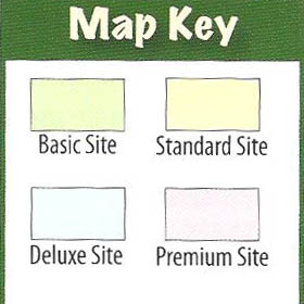 Campground Map Key