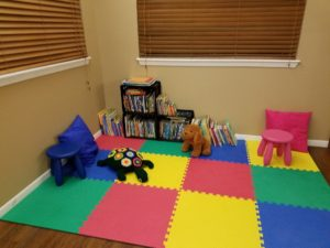 RV Park Children's Library Area