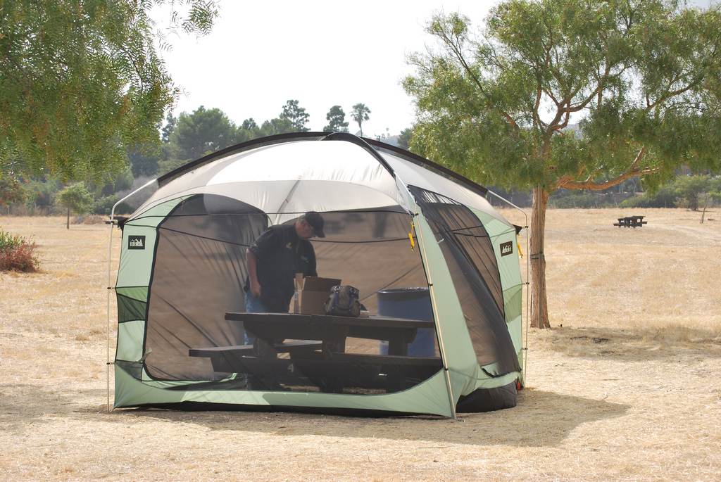 Screened Dining Tent for Camping