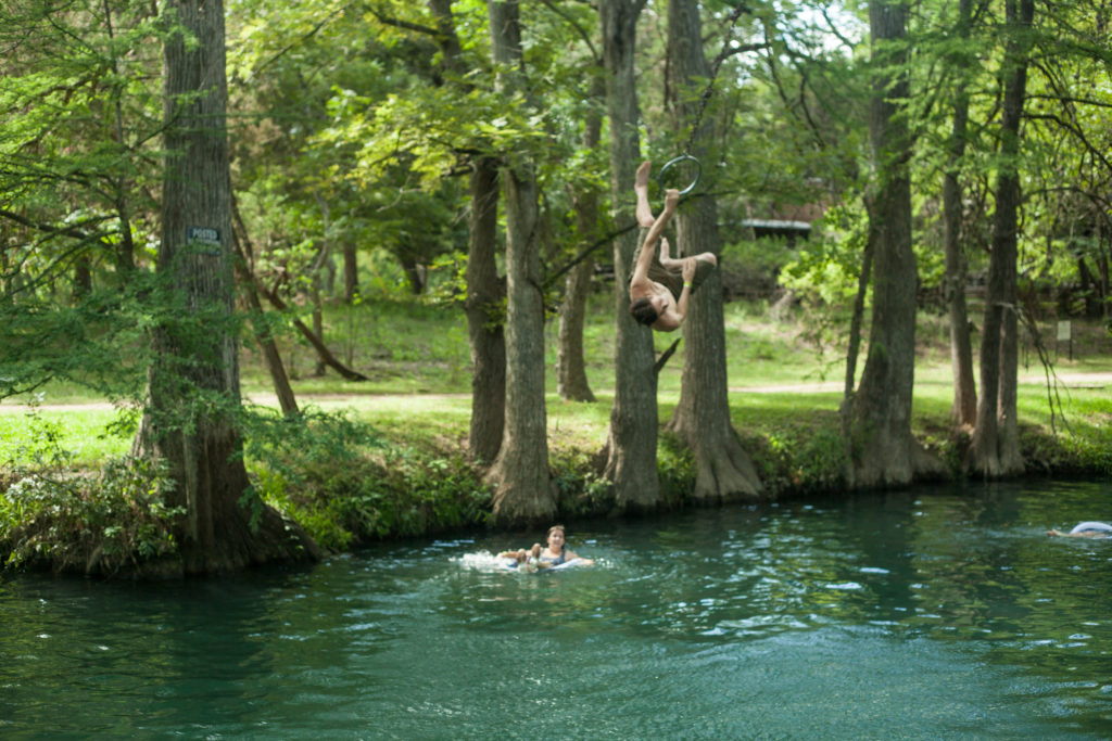 Blue Hole Swimming Wimberley TX