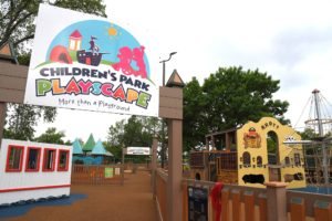 Childrens Park Entrance San Marcos Texas