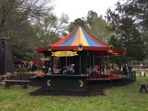 Carousel at Sherwood Forest Faire