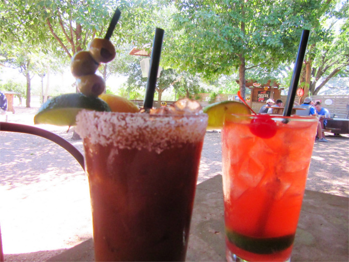 Railyard Bar and Grill Cocktails in San Marcos, TX