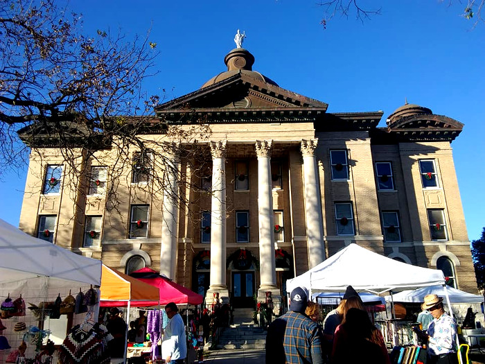 Art Squared at Hays County Courthouse