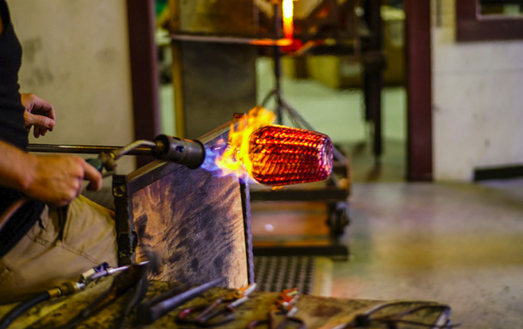 Visit Wimberley Glassworks Demonstration