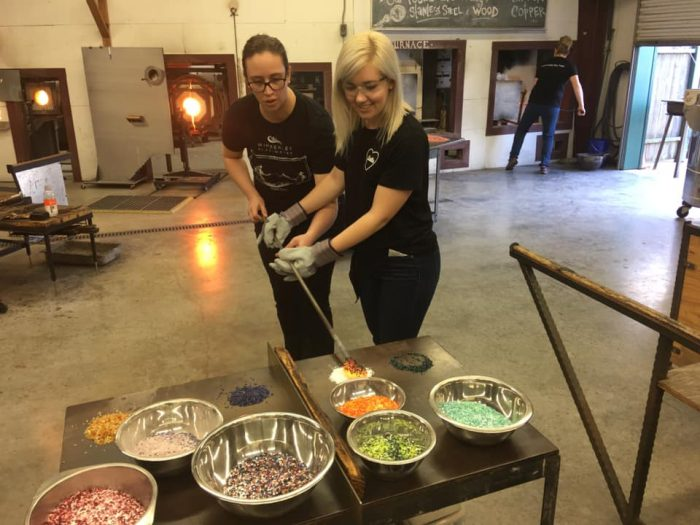 Glassblowing Class at Wimberley Glassworks