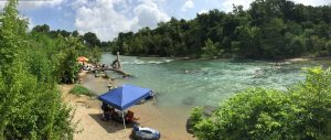 RV Campground on San Marcos River