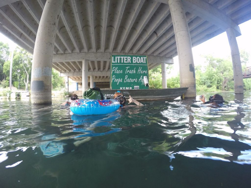 Keep San Marcos River clean