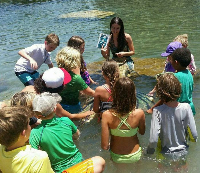Mermaid Chat to Protect San Marcos River