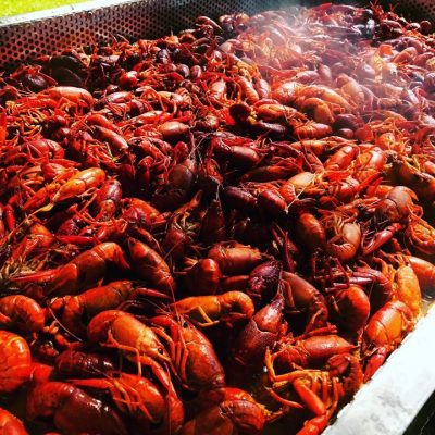 Enjoy Lousiana Cajun-style Crawfish at OMG Seafood